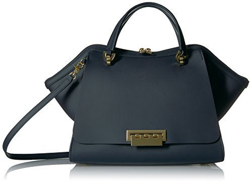 Posen Zac Designer (ZAC Zac Posen Eartha Iconic Jumbo Dbl Handle Navy)