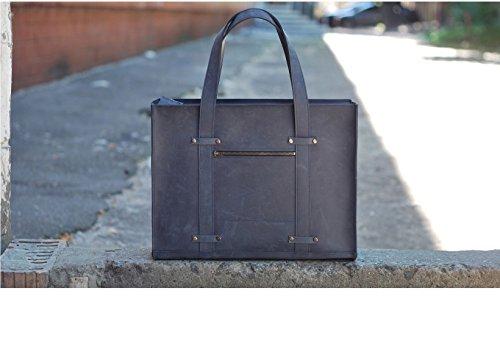 Kuriertasche für Frauen. Leder Laptop Taschen. Business-Tasche Leder