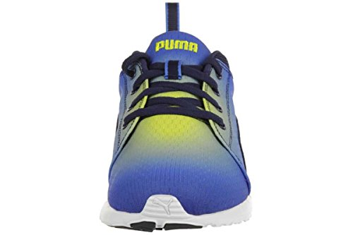Puma Carson Runner Radial Men's Trainers Sneaker fitness 188761 03 French Blue-Black-Buttercup