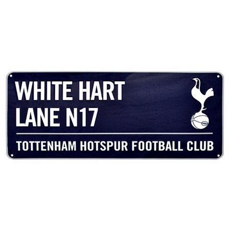 Tottenham Unisex Street Sign, - Code Sports Delivery Direct
