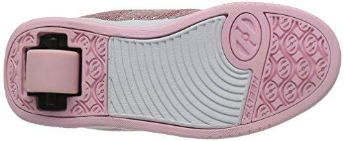8 US Kid Light Disco M Big Heelys Pink Split Girls' Sneaker Glitter nqUC0x7aZw
