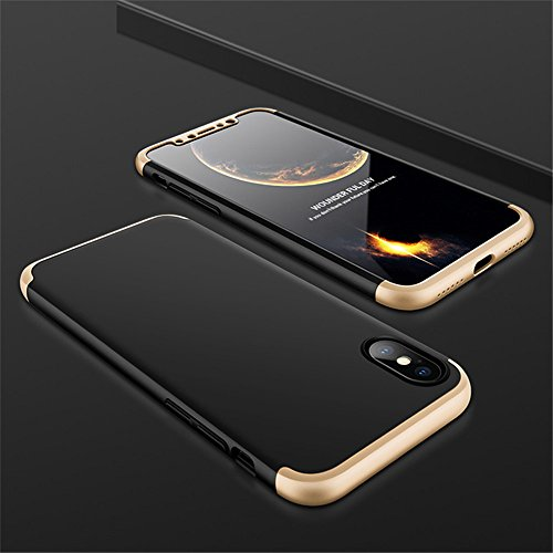 coque integrale iphone x 360 full cover avec verre trempe