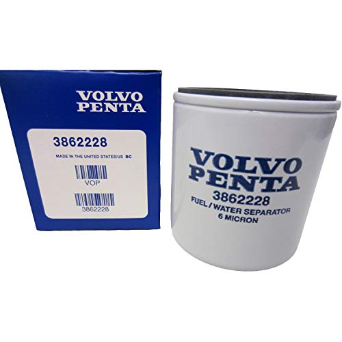 OEM Volvo Penta Gasoline Spin-On Fuel Filter 1994-2007 V6/V8 Models 3862228