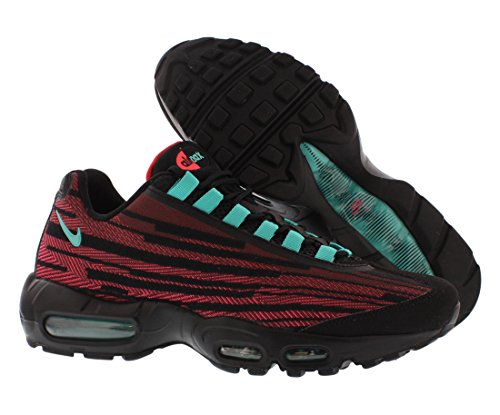 Nike [644793-601] Air Max 95 Jcrd Heren Sneakers Nikecedar / Hypr Jd-hypr Pnch-cl Grym