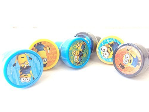 Despicable Me Minions Stampers Party Favors (12 -