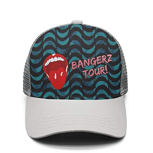 VEDOI Unisex Mesh Hip-Hop Cap Miley-Cyrus-Bangerz-Tour- for Mens Womens Caps