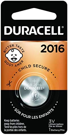 Duracell - 2016 3V Lithium Coin Battery - with sour coating - 1 depend