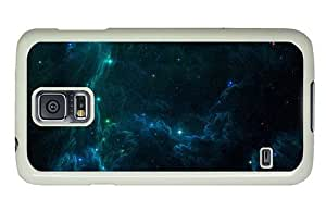 Hipster slim Samsung Galaxy S5 Cases space cosmic nebulae stars PC White for Samsung S5