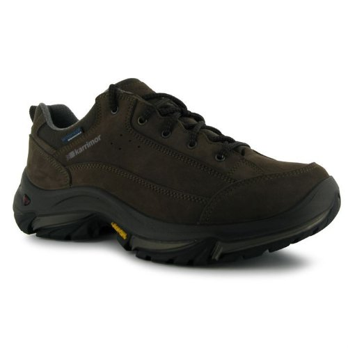 Karrimor Mens Brecon Low Walking Hiking Shoes Trainers Brown O0iDFJ