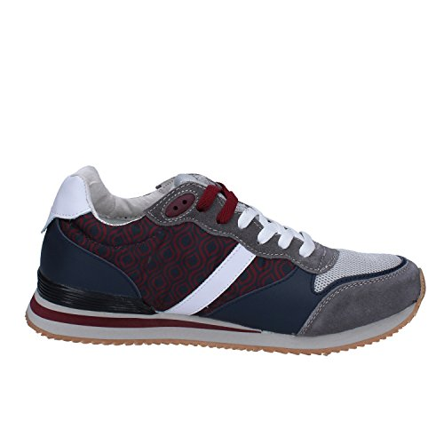D.A.T.E. - Zapatillas para hombre bordeaux/grigio