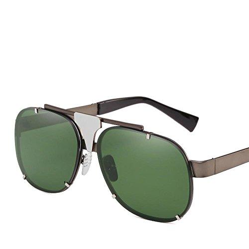 la creativos los Marco Sol protección de Axiba Europa de de Unidos Las Regalos Sol Metal UV400 de Gafas y Gafas Estados Marea Gafas Personalidad Sol C Hombres xXq4B