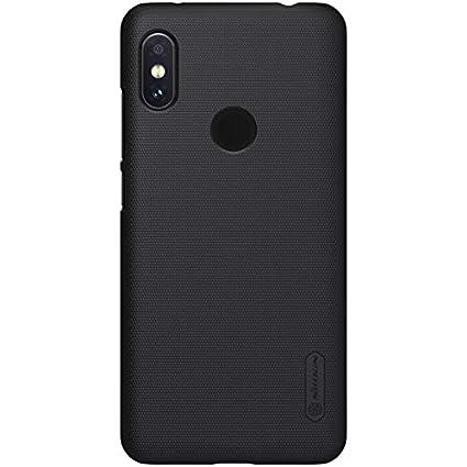 san francisco a71c2 3da1c Nillkin Case for Xiaomi Redmi Note 6 Pro Super Frosted Hard Back Cover Hard  PC Black Color
