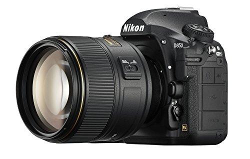 Nikon D850 FX-format Digital SLR Camera Body w/ AF-S NIKKOR 105mm f/1.4E ED Lens