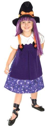 Twilight Witch Costume - Child Small (Girls Twilight Witch Costume)
