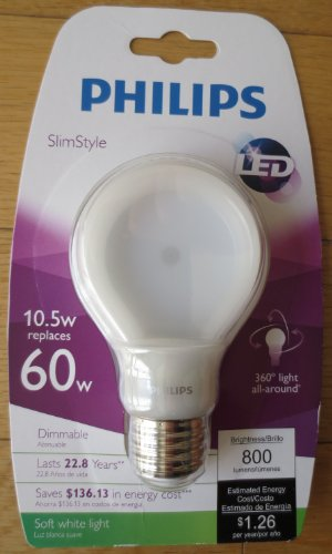 Philips 433227 watts Dimmable 4 pack
