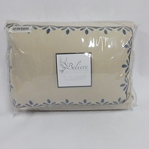 Believe at Home by Michelle Williams 4-Piece Duvet Cover Set