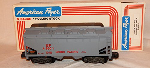 - American Flyer 6-48601 Union Pacific Covered Hopper UP S gauge CRISP removable