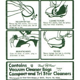 Compact Vacuum Cleaner Bags - 2