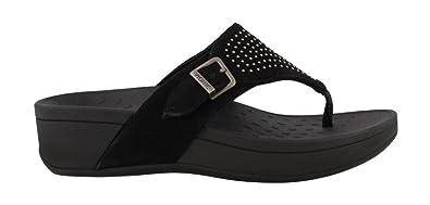 Vionic Women's, Pacific Capitola Thong Style Sandals Black Black ...