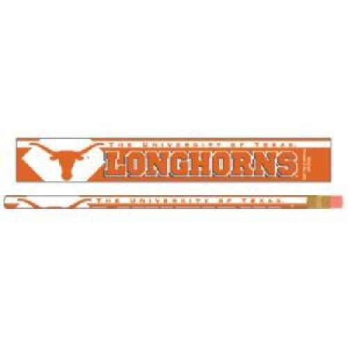 (Texas Longhorns Pencil - 6-pack)
