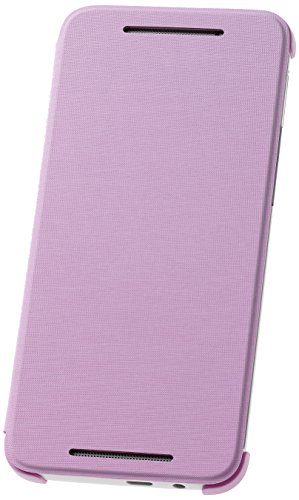 HTC  Flip Case for HTC One (E8) - Retail Packaging - Sweet Lilac