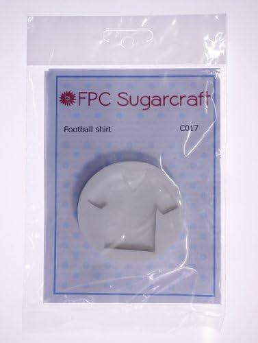 Camiseta de fútbol - manga pastelera de silicona molde para decoración de tartas y cupcakes por FPC: Amazon.es: Hogar