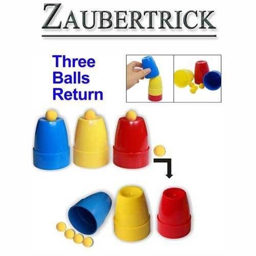 Trucco magico: tazze e palle - magia dirty-jokes