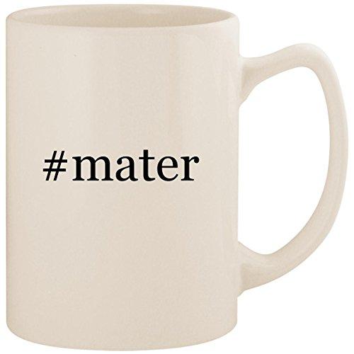 - #mater - White Hashtag 14oz Ceramic Statesman Coffee Mug Cup