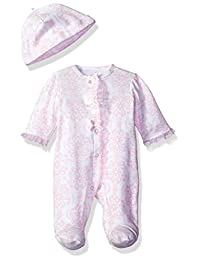 Little Me Baby Girls' Footie and Hat
