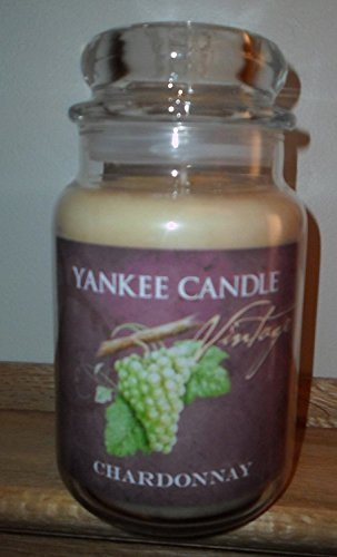 Yankee Candle Chardonnay 22oz Jar Candle ()