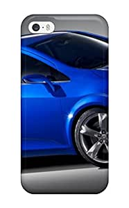 Rugged Skin Case Cover For Iphone 5/5s- Eco-friendly Packaging(2011 Chevrolet Aveo S Car Rs Show Car)
