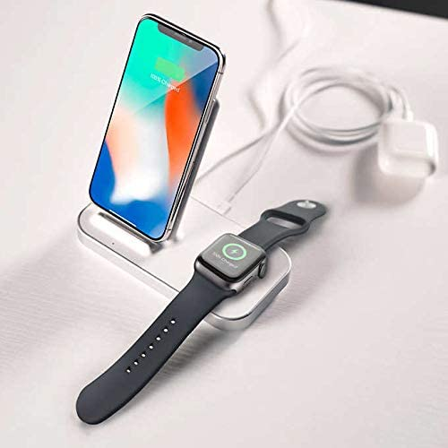 Ubio Labs Wireless Charging Stand for iPhone and Apple Watch