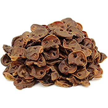 Amazon.com : GigaBite Smoked Pig Snouts for Dogs (100 Pack