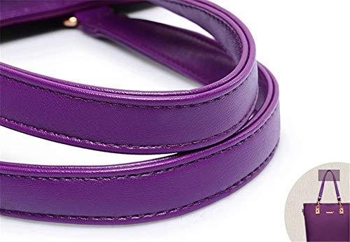 Roja Bolso La Piezas De Mano Rosa Violet Bolso Solo De Un De Moda De Hombro Seis EB687agwqx