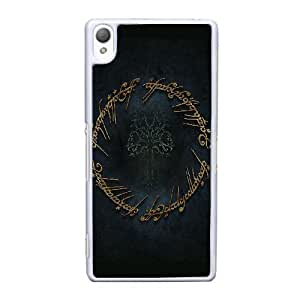 Sony Xperia Z3 Cell Phone Case White Lord of the Rings AS7YD3585136