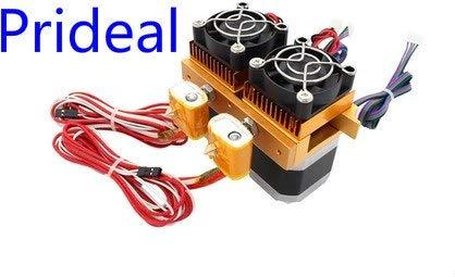 Impresora 3D Prideal Mk8 de 12 V, extrusor de boquilla de doble ...