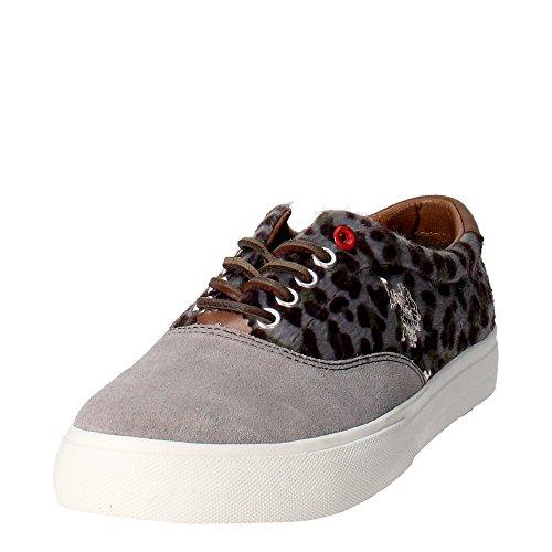 U.s. Polo Assn - Zapatillas para mujer Gris