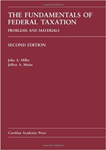 Amazon the fundamentals of federal taxation problems and amazon the fundamentals of federal taxation problems and materials 9781594608438 john a miller jeffrey a maine books fandeluxe Images
