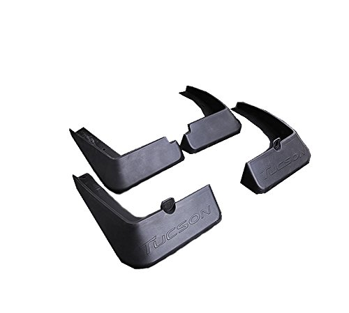 Vesul 4pcs Mud Flaps Mudguard Fenders Splash Guards Fits on Hyundai Tucson 2016 2017 2018
