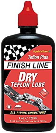 FINISH LINE Dry Teflon Lube 4 OZ. Squeeze Bottle