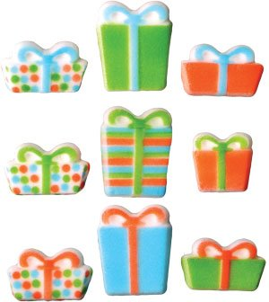 Christmas Presents Assortment for Cakes, Cupcakes 12 pack (Christmas Cakes Dessert For)