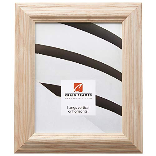 - Craig Frames 78673000 17 by 22-Inch Picture Frame, Solid Wood, 1.8-Inches Wide, Raw Natural Finish