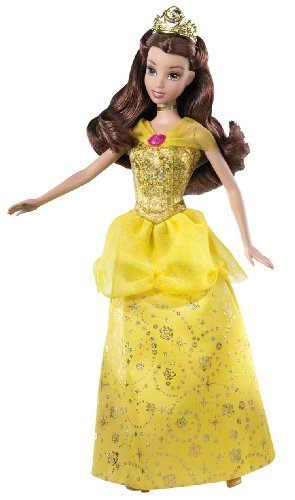 Disney Sparkling Princess Belle Doll