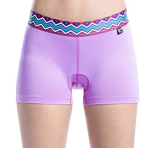 - Women 3D Padded Cycling Underwear Quick Dry Gel Bike Underwear and Bike Shorts