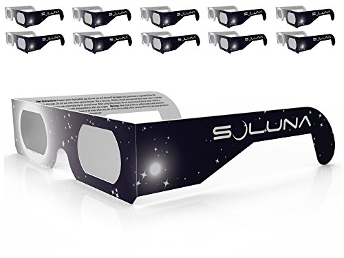 Soluna Solar Eclipse Glasses - CE and ISO Certified by American Paper Optics