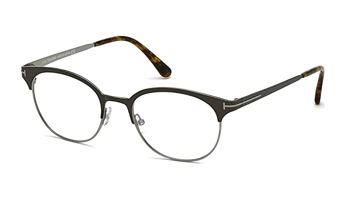 e8f2310795e2 Image Unavailable. Image not available for. Color  Tom Ford Eyeglasses  FT5382 009 Brown Gunmetal 50MM