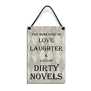 Esta casa se ejecuta en amor risas y un montón de novelas ...