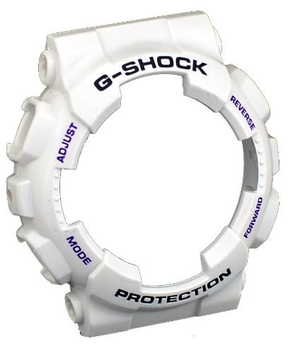 Casio G-shock Ga100 /Ga110/ Ga120/gd100/watch Bezel Rubber Case Cover/white