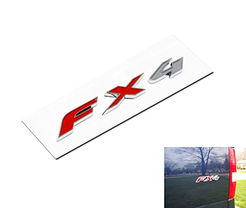 3-letter/set FX4 3D Letters Stickers Fit For Ford F-150