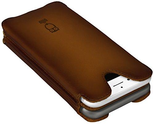 ullu Sleeve for iPhone 8/ 7 - Milk Chocolate Brown UDUO7VT100 by ullu (Image #2)